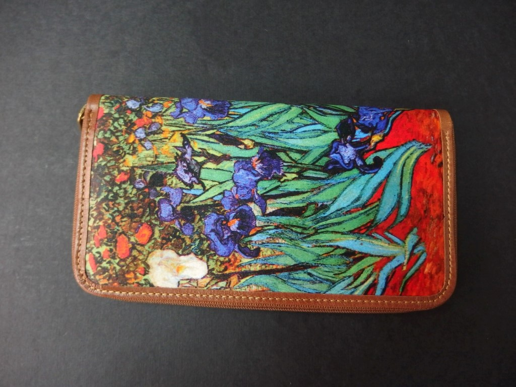 Billetero Lirios de Van Gogh