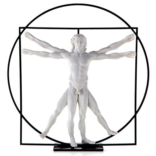 Escultura Leonardo da Vinci