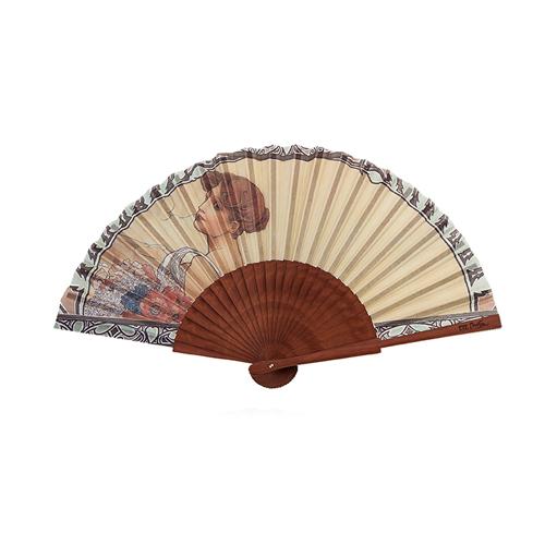 Abanico verano Alfons Mucha
