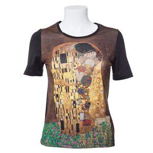 Camiseta El beso de Gustav Klimt