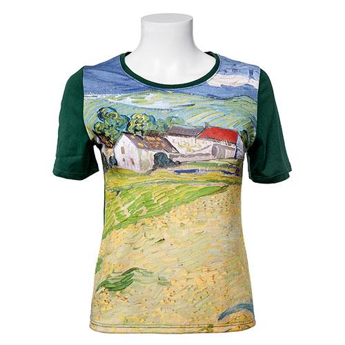 Camiseta Paisaje De Auvers de Van Gogh