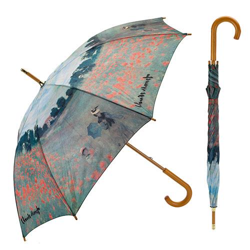 Paraguas Campo de amapolas de Monet