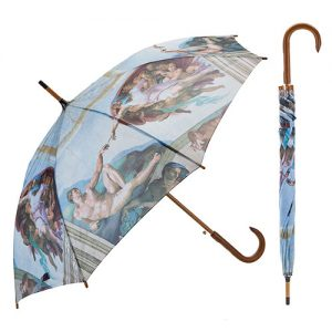 Paraguas capilla Sixtina de Miguel Ángel