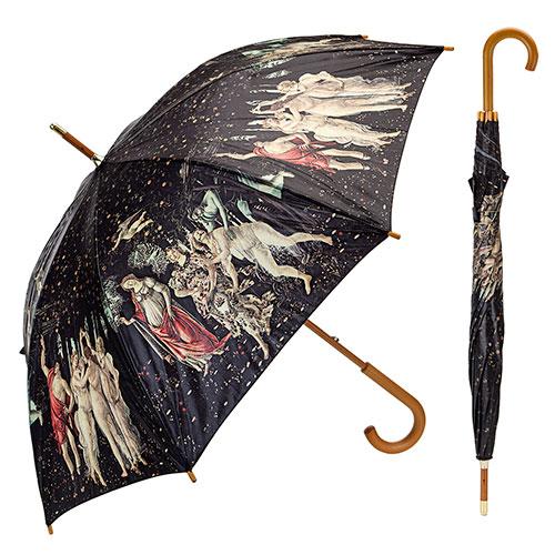 Paraguas la primavera de Botticelli