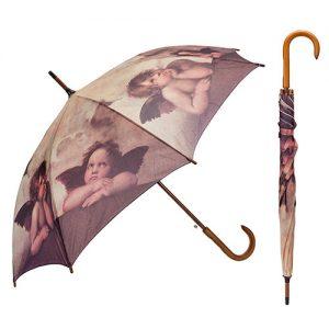 Paraguas los angelitos de Rafael