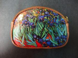 Portamonedas Los Lirios de Van Gogh