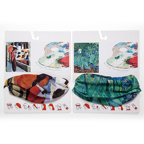 cuellos tienda de Sombreros August Hacke y Lirios de Van Gogh