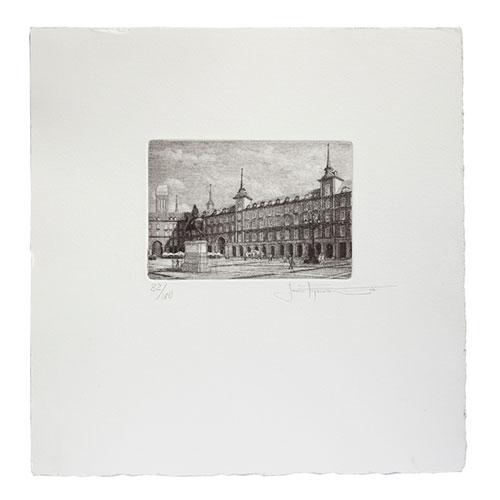Conmemoración 400 años de la plaza mayor Autor Javier Esperanza