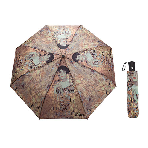 "Paraguas Gustav Klimt Adela ""Dama de Oro"" - Enmarcart Madrid"
