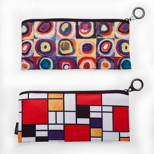 Portalápices Kandinsky y portalapices mondrian