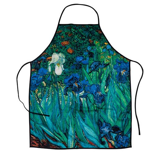Delantal Van Gogh Lirios